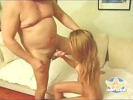 Skinny Teen solo Girl Fucked by OId Fat Guy