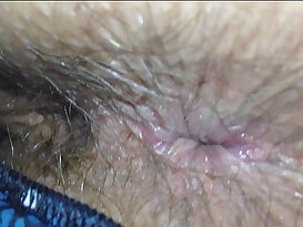 Wife Shit Stained Hairy Arsehole Inspection
