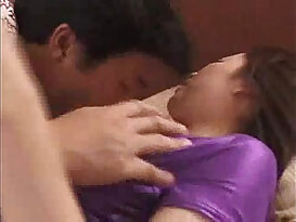 Asian mom and son fucking