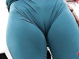 Hot Race Girl Suit. Big Ass, Big Boobs, Cameltoe, High Heels! Yeah.