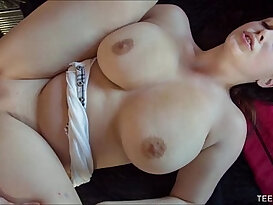 Big Natural tits Teen Fucked By Big White Cock