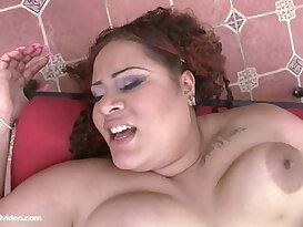 Amateur Latina BBW Miss Angel Fucked Outside in Public