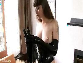 BDSM Latex Solo