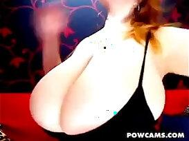 Pretty Redhead milf With Boobs