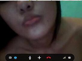 My Pinay Girlfriend on Webcam