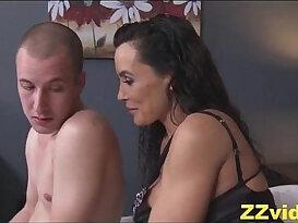 Lisa Ann fucked by stepson