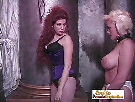 Dominant Mistress Enjoys Her Time In The Den