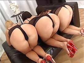 Frisky Cat, Lilya and Prima Interracial Triple Stacked