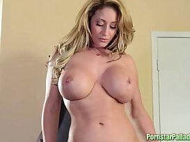 Eva Notty Striptease Masturbation