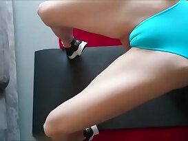 Perfect cameltoe in a perfect porn video
