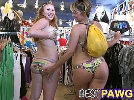 Fat Asses on Collins Avenue in Miami Beach HD