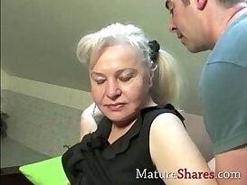 Exclusive granny porn scene